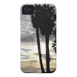 Palm Tree Sunset iPhone 4 Case-Mate Case