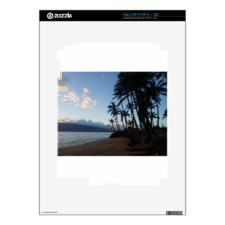 Palm Tree Sunset Decal For iPad 2