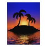 Palm Tree Sunset Invite