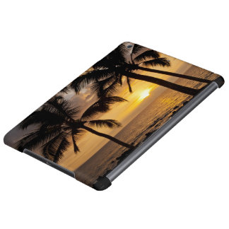 Palm tree sunset iPad air cases