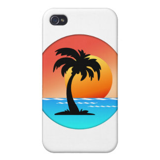 Palm Tree Sunset iPhone 4/4S Cover