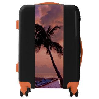 Palm Tree Sunset Luggage