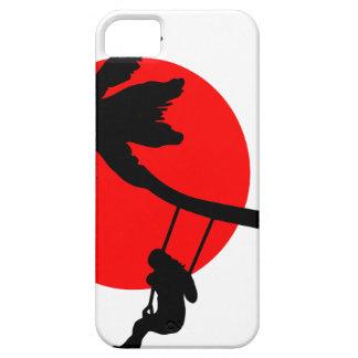 Palm tree sunset swings holiday freedom iPhone 5 case