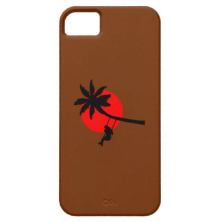Palm tree sunset swings holiday freedom iPhone 5 cases