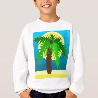 Palm tree sweatshirt