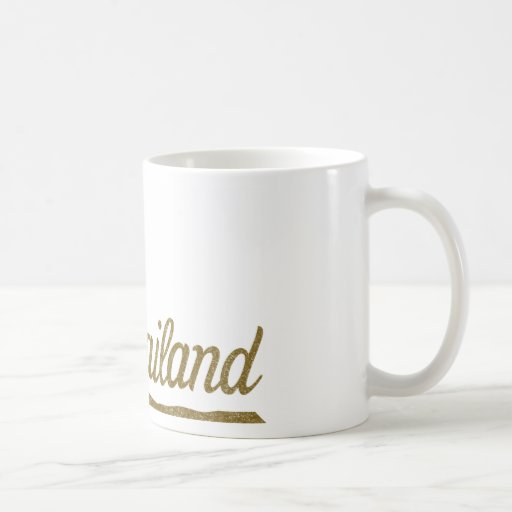 Palm Tree Thailand Coffee Mugs