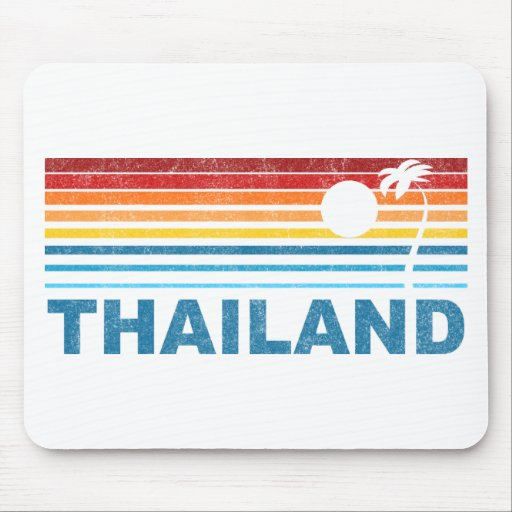 Palm Tree Thailand Mouse Pad