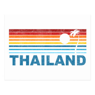 Palm Tree Thailand Postcard