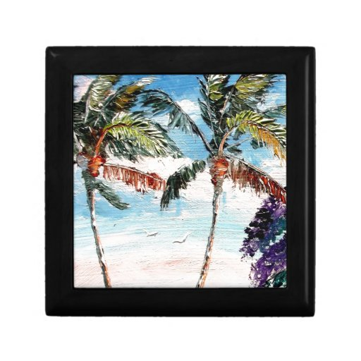Palm Tree Top Gift Boxes