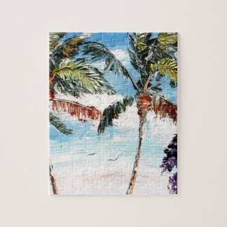 Palm Tree Top Jigsaw Puzzles