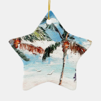 Palm Tree Top Ornaments