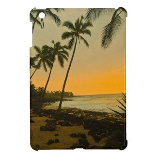 Palm Tree Tropical Beach Sunset iPad Mini Cover