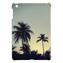Palm Tree Tropical Glossy iPad Mini Case