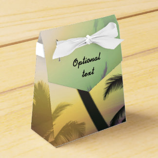 Palm Tree Tropical Heat Beach Party Favor Bo