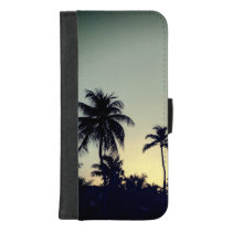 Palm Tree Tropical iPhone 8/7 Plus Wallet Case