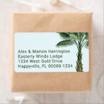 Palm Tree Tropical Themed Shipping Labels
