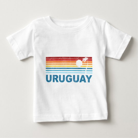 Palm Tree Uruguay Baby T-Shirt