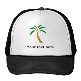 Palm Tree With Coconuts Trucker Hats
