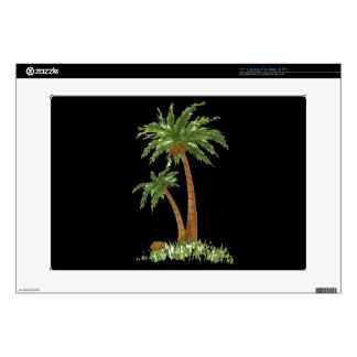 "Palm Tree Zazzle Skin 15"" Laptop Skins"