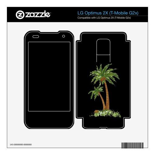 Palm Tree Zazzle Skin LG Optimus 2X Skins