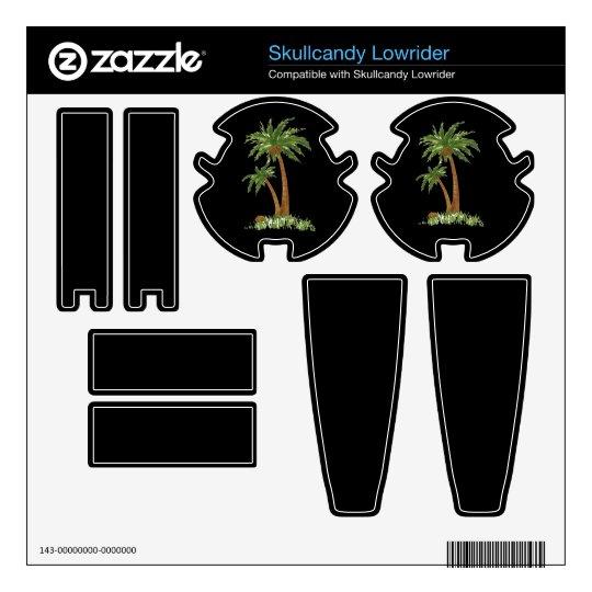 Palm Tree Zazzle Skin Skullcandy Skins