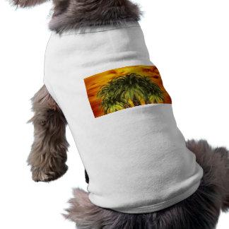 palm-trees-284544 TROPICAL FANTASY WARM ISLAND DIG Shirt