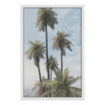 palm trees #2 posters
