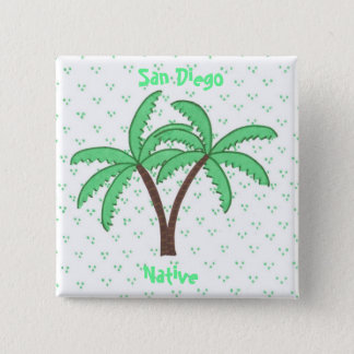 Palm Trees 2, San Diego, Native button