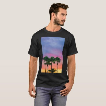 giftsnerd Palm Trees & A Beautiful Sunset T-Shirt