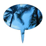 Palm Trees and Blue Skies Cake Topper