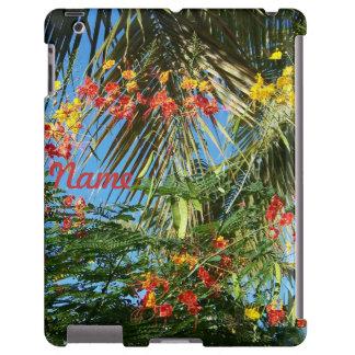Palm Trees and Caribbean Flowers!  iPad 2/3/4 Case Apple Ipad234 Case