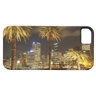 Palm Trees and CBD at Night, Sydney, New South iPhone SE/5/5s Case