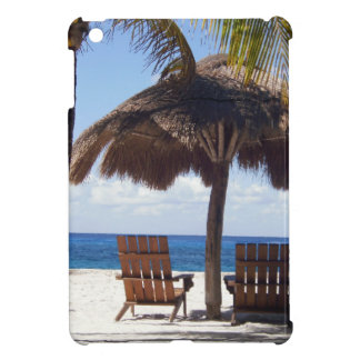 Palm Trees and chairs Mexico Beach iPad Mini Case