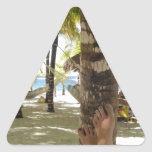 Palm Trees and Hammock Triangle Stickers