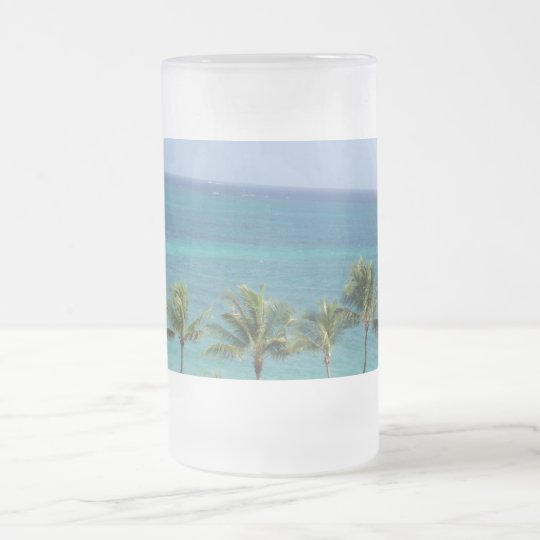 Palm Trees and Ocean mug