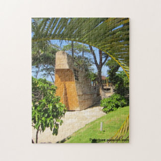 palm trees and pirate ship photograph jigsaw puzzles
