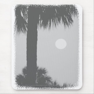 Palm trees and sun mouse pads