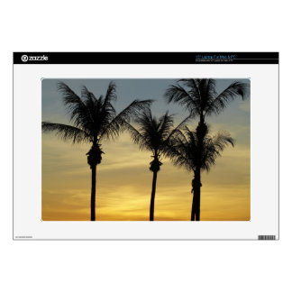 "Palm trees and sunset, Mindil Beach, Darwin 15"" Laptop Decals"