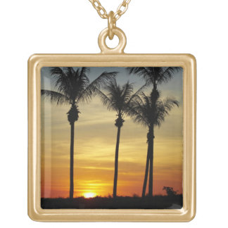 Palm trees and sunset, Mindil Beach, Darwin Jewelry