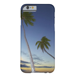 Palm trees and sunset, Plantation Island Resort Barely There iPhone 6 Case