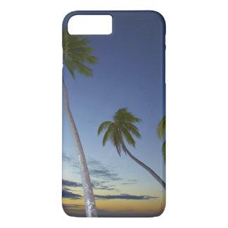 Palm trees and sunset, Plantation Island Resort iPhone 8 Plus/7 Plus Case