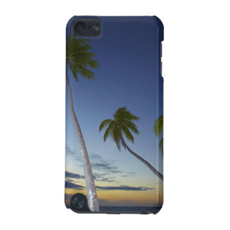 Palm trees and sunset, Plantation Island Resort iPod Touch (5th Generation) Case