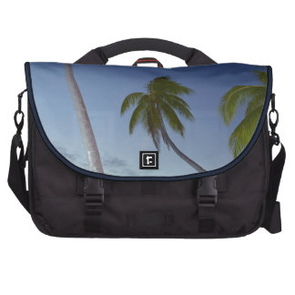 Palm trees and sunset, Plantation Island Resort Commuter Bags