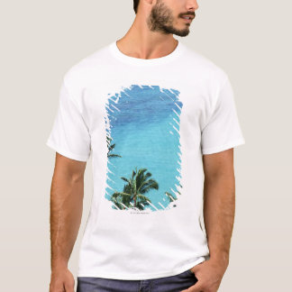 Palm trees and surface of the sea T-Shirt