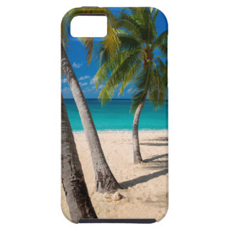 Palm trees and turquoise water along Seven-Mile iPhone SE/5/5s Case