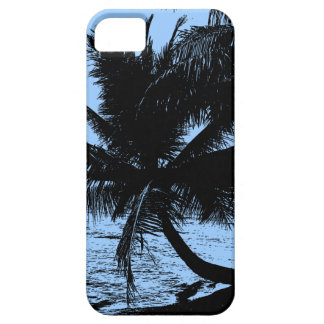 Palm trees and water - Blue iPhone SE/5/5s Case