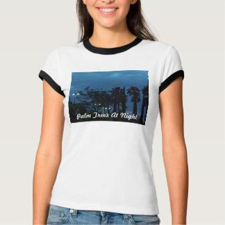 Palm Trees At Night T-Shirt