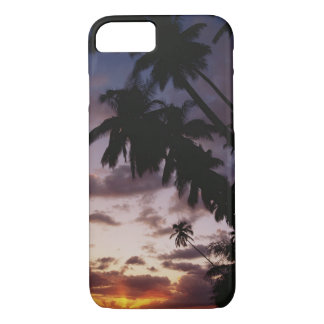 Palm Trees at sea iPhone 7 Case