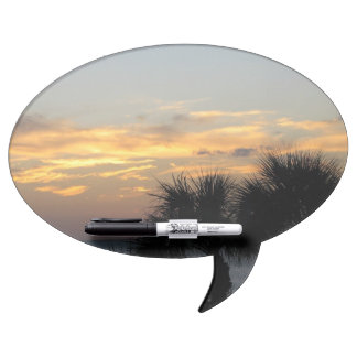 Palm Trees at Sunset Dry-Erase Board