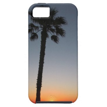 Beach Themed Palm trees at sunset iPhone SE/5/5s case